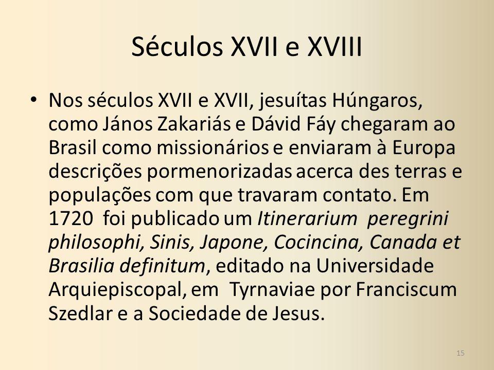 Séculos XVII e XVIII
