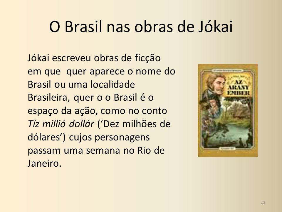 O Brasil nas obras de Jókai