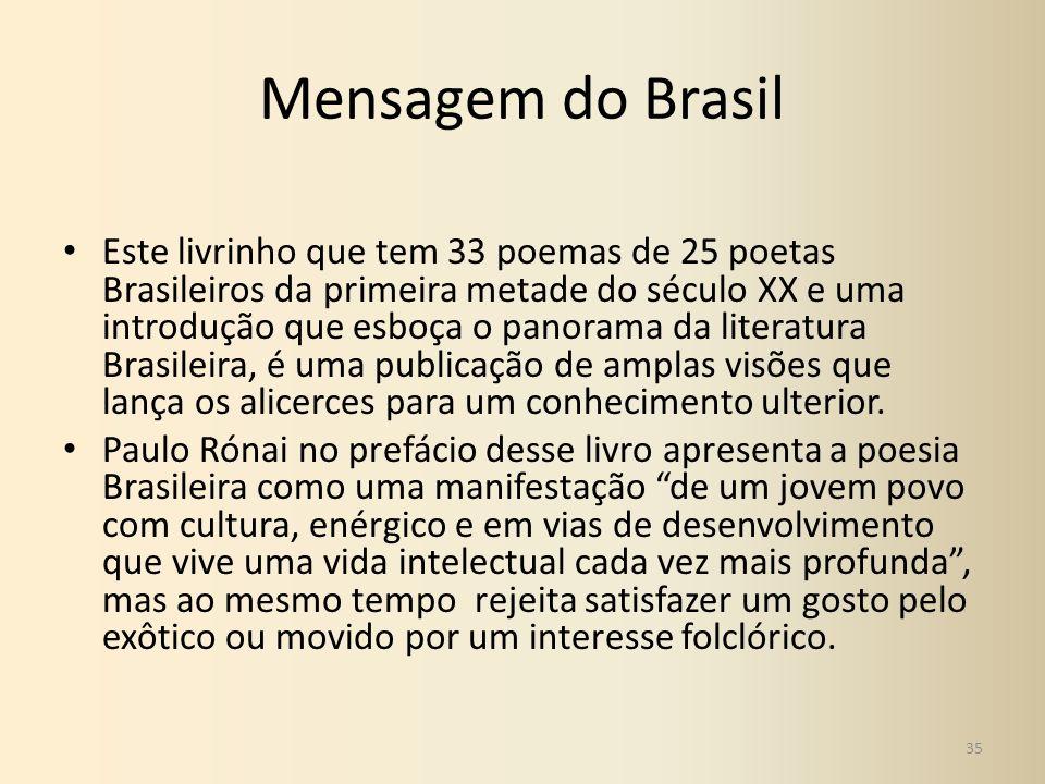Mensagem do Brasil