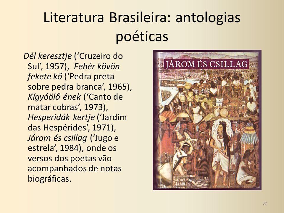 Literatura Brasileira: antologias poéticas