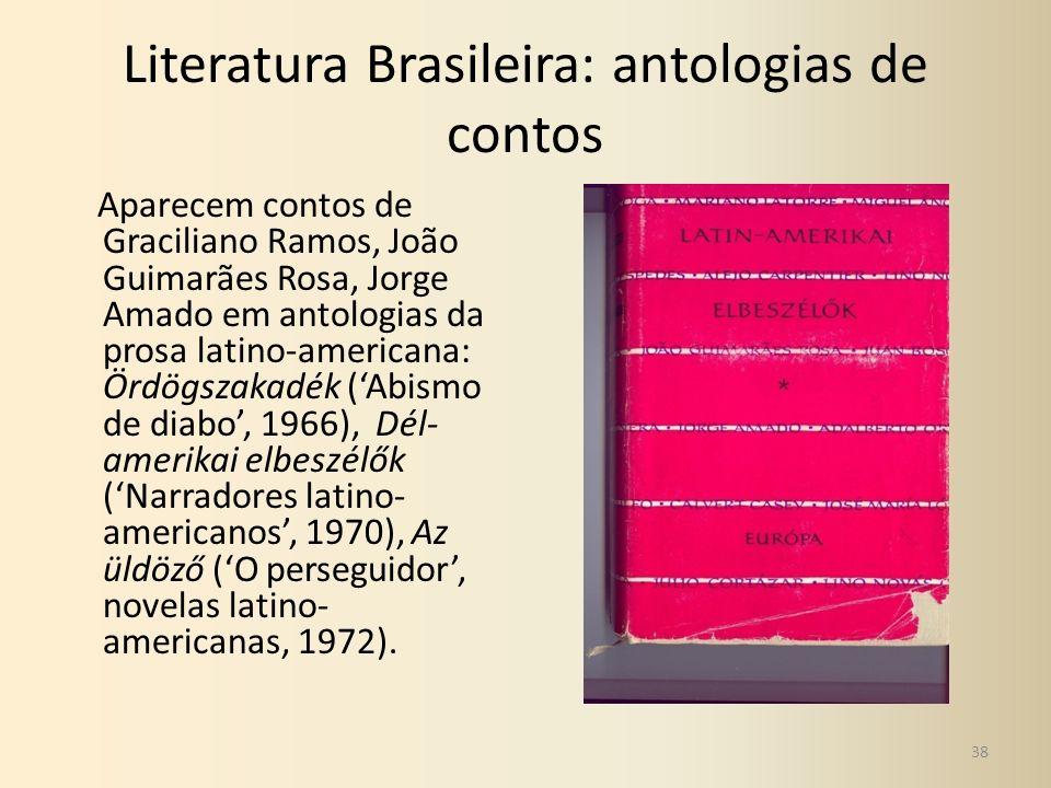 Literatura Brasileira: antologias de contos