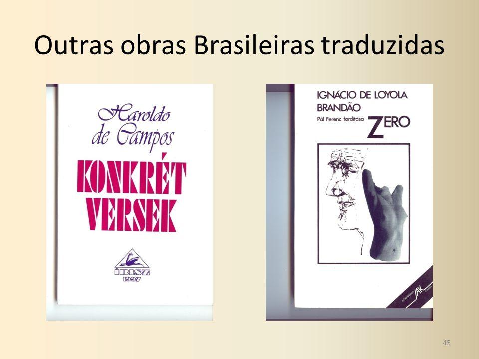 Outras obras Brasileiras traduzidas