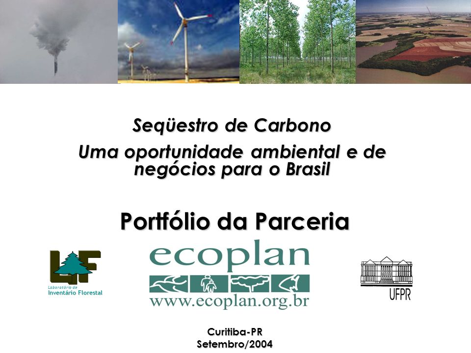 Portfólio da Parceria Curitiba-PR Setembro/2004