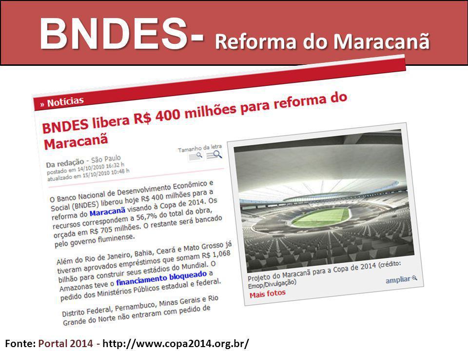 BNDES- Reforma do Maracanã