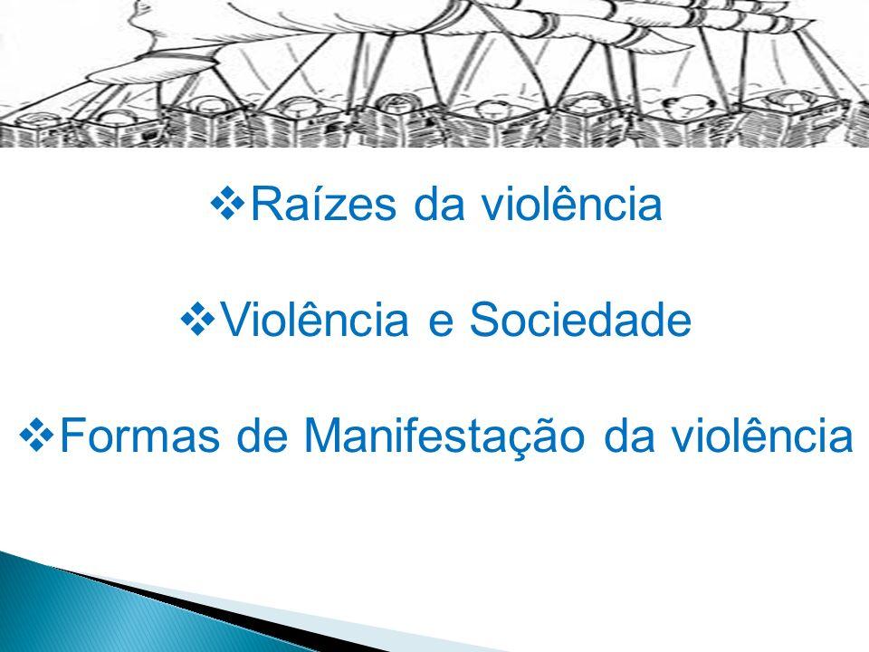 Formas de Manifestação da violência