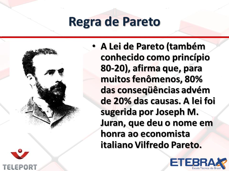 Regra de Pareto