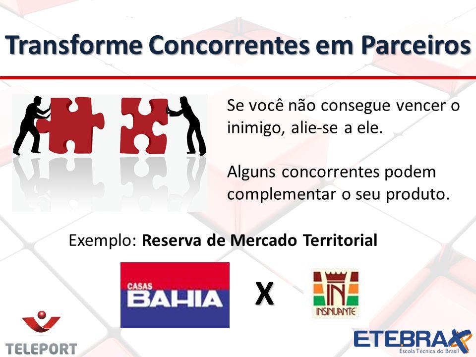 Transforme Concorrentes em Parceiros