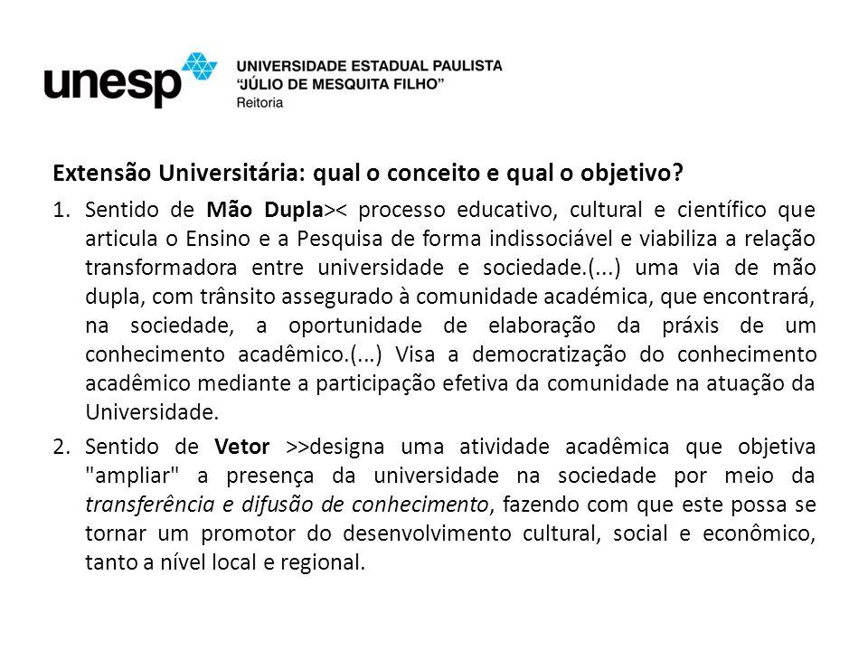 Extensão Universitária: qual o conceito e qual o objetivo