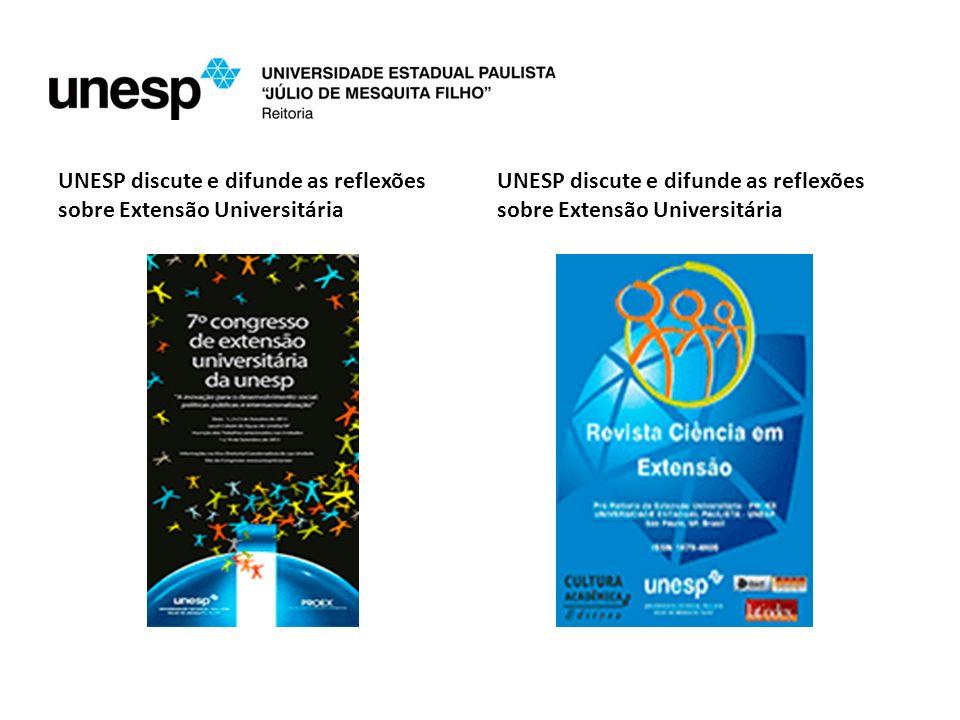 UNESP discute e difunde as reflexões sobre Extensão Universitária