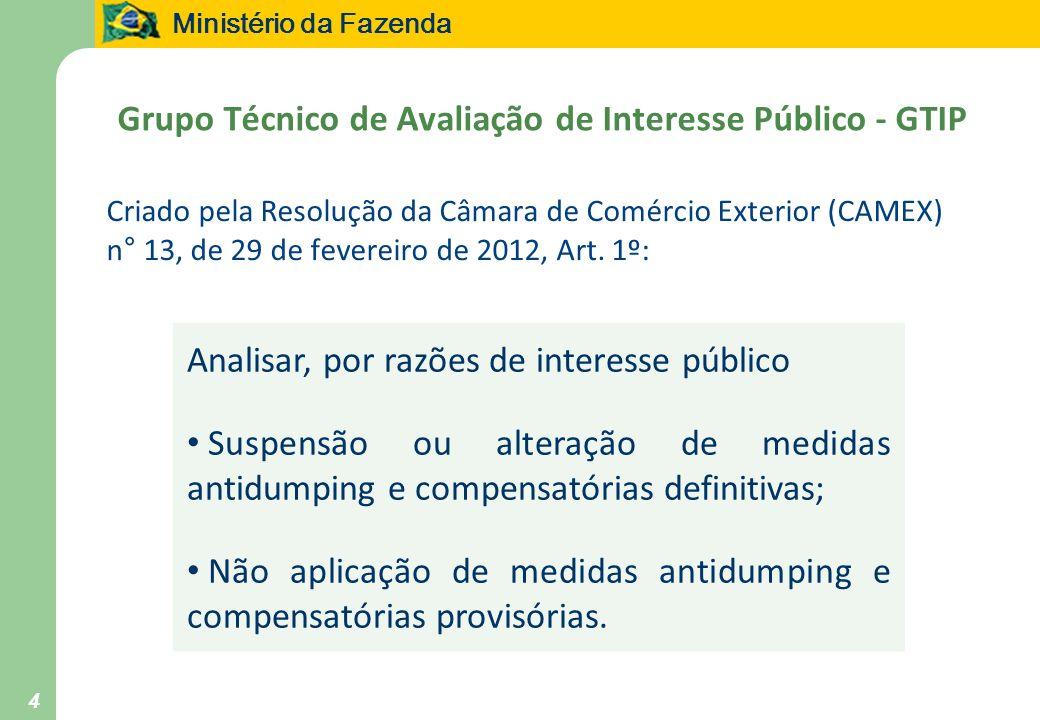 Grupo Técnico de Avaliação de Interesse Público - GTIP