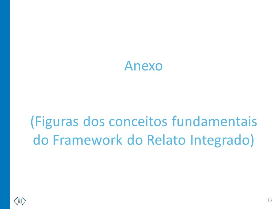 Anexo (Figuras dos conceitos fundamentais do Framework do Relato Integrado)
