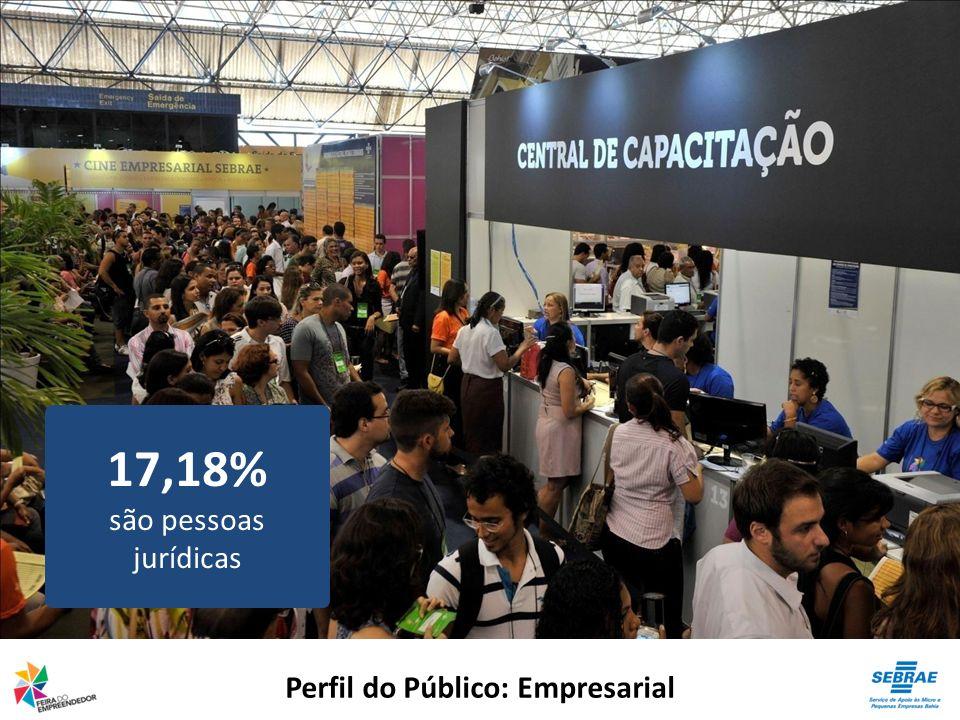 Perfil do Público: Empresarial