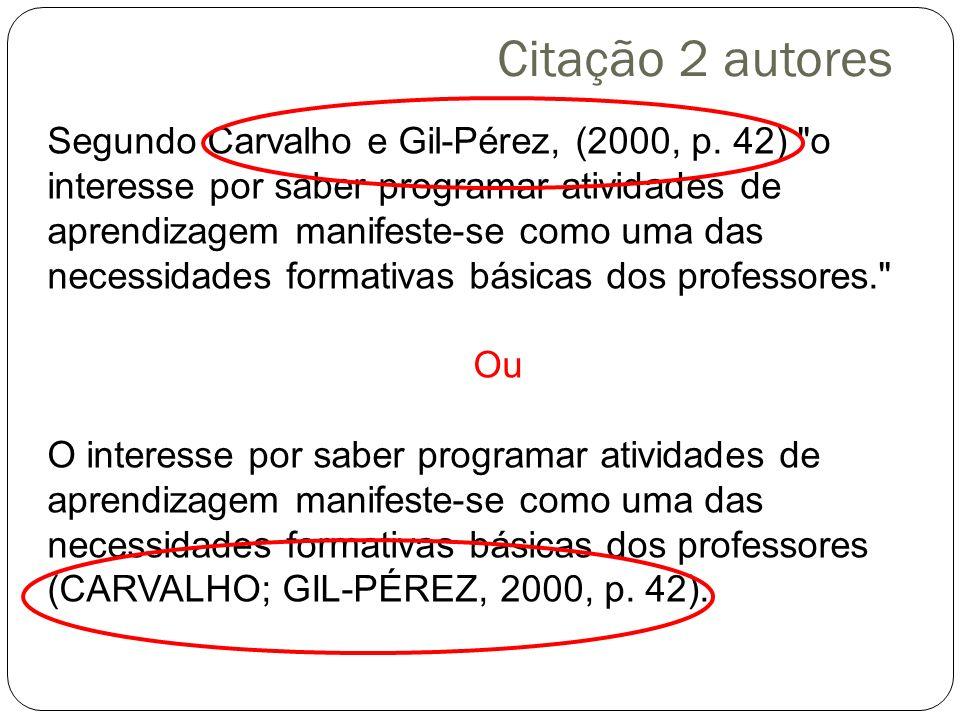 Citação 2 autores