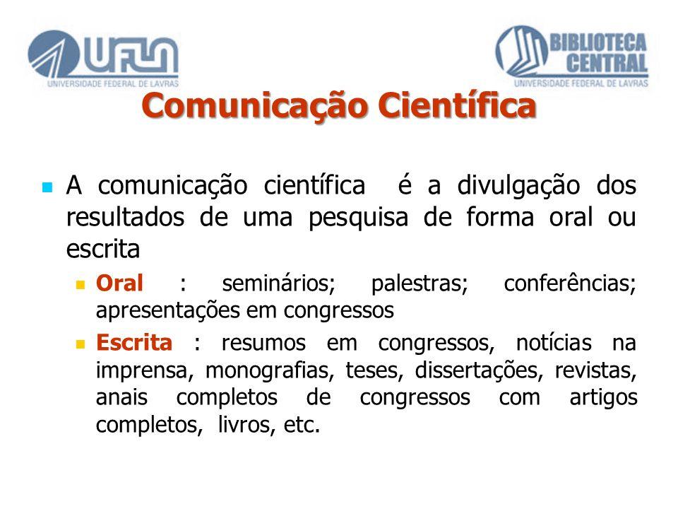 Comunicação Científica