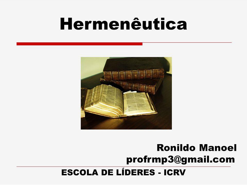 ESCOLA DE LÍDERES - ICRV