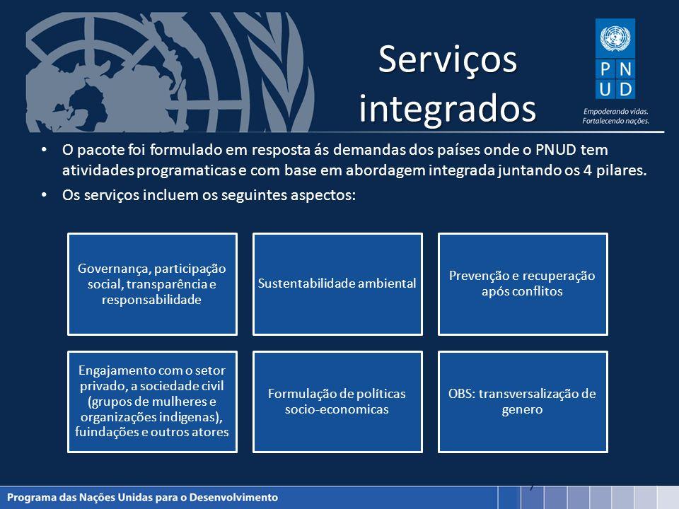 Serviços integrados