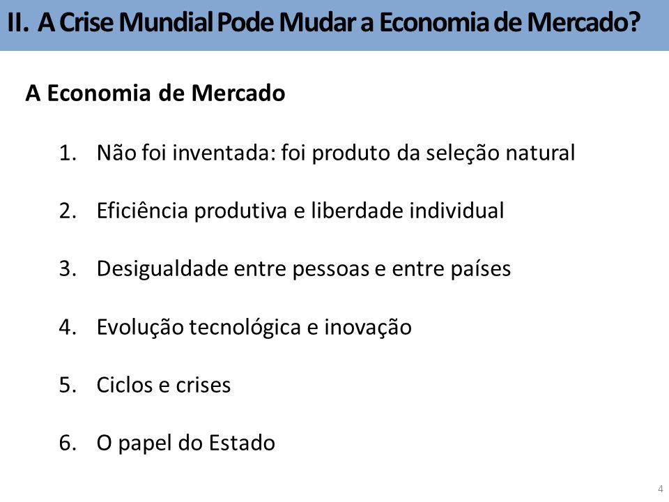 II. A Crise Mundial Pode Mudar a Economia de Mercado