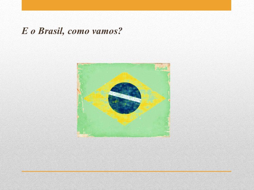 E o Brasil, como vamos