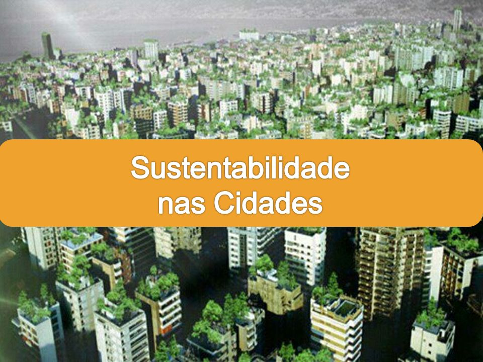 Sustentabilidade nas Cidades