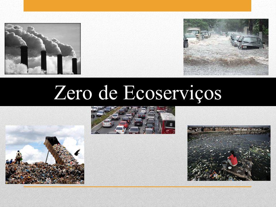 Zero de Ecoserviços Cidades como buracos negros