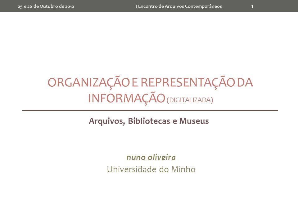 Organização e Representação da Informação (Digitalizada)