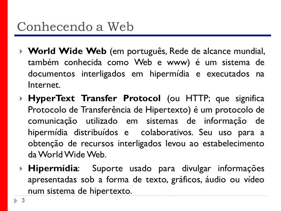 Conhecendo a Web