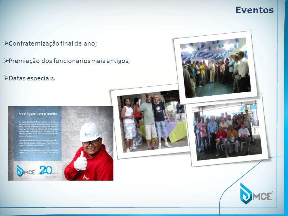 Eventos Confraternização final de ano;