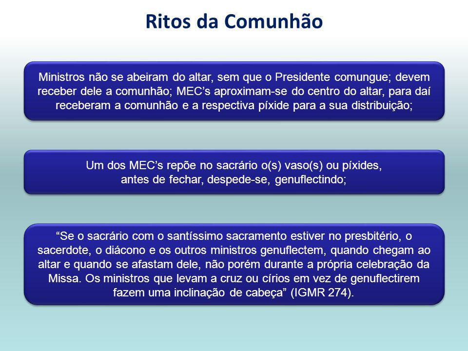 Ritos da Comunhão