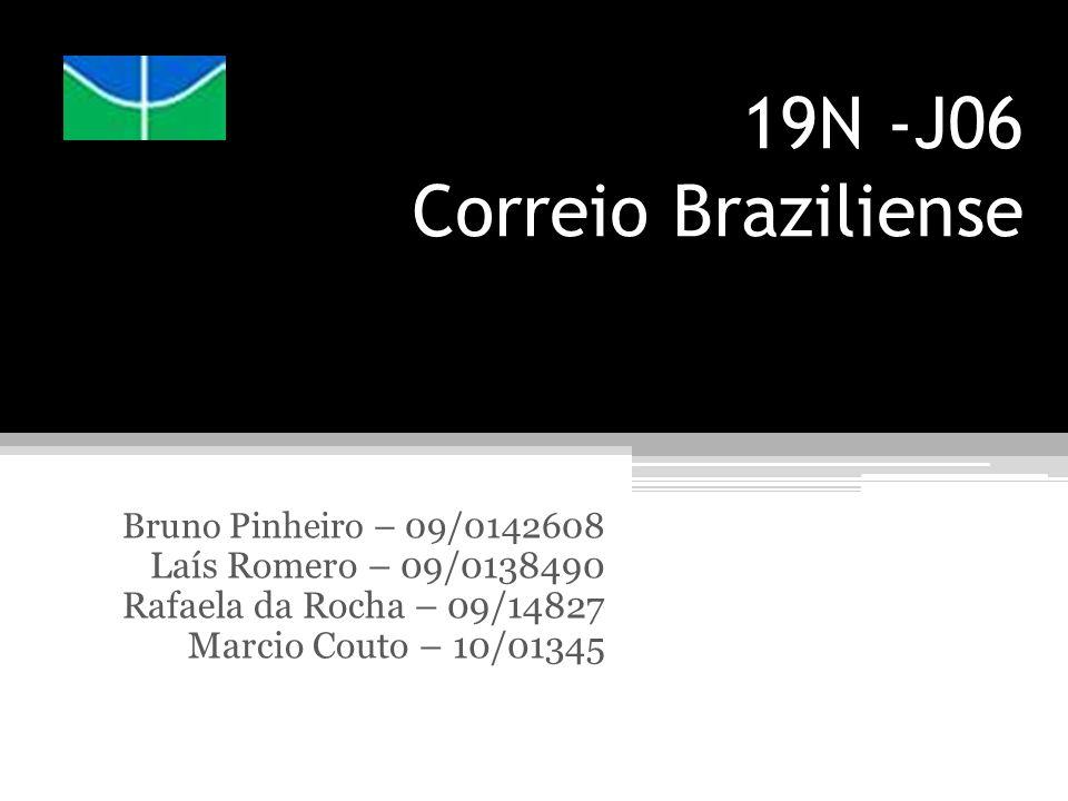 19N -J06 Correio Braziliense