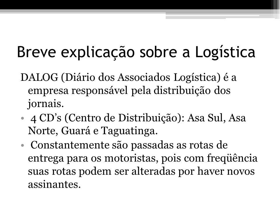Breve explicação sobre a Logística