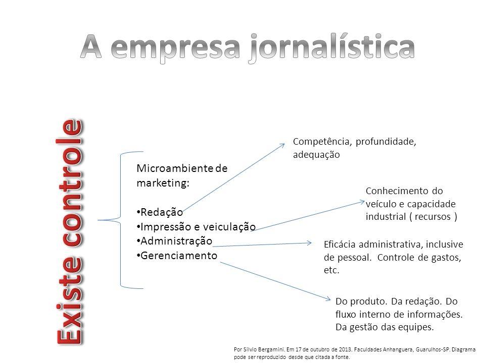 A empresa jornalística