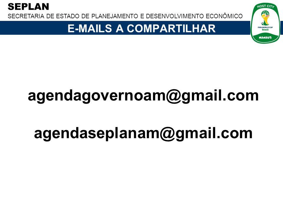E-MAILS A COMPARTILHAR