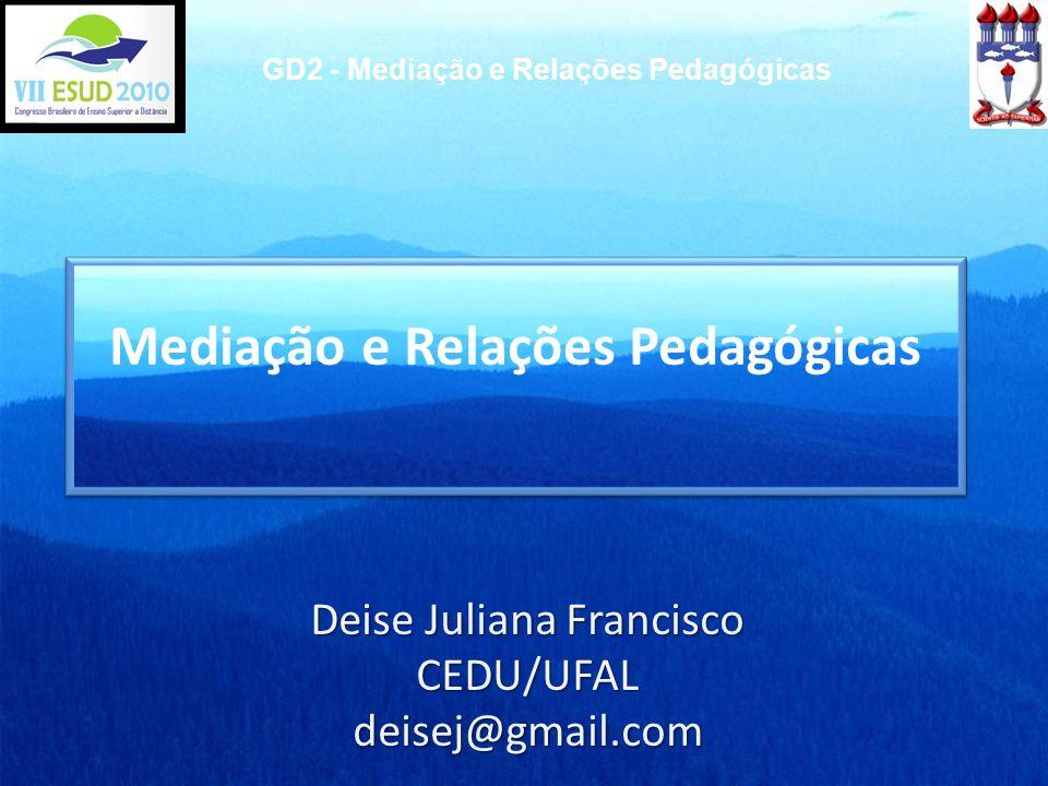Mediação e Relações Pedagógicas