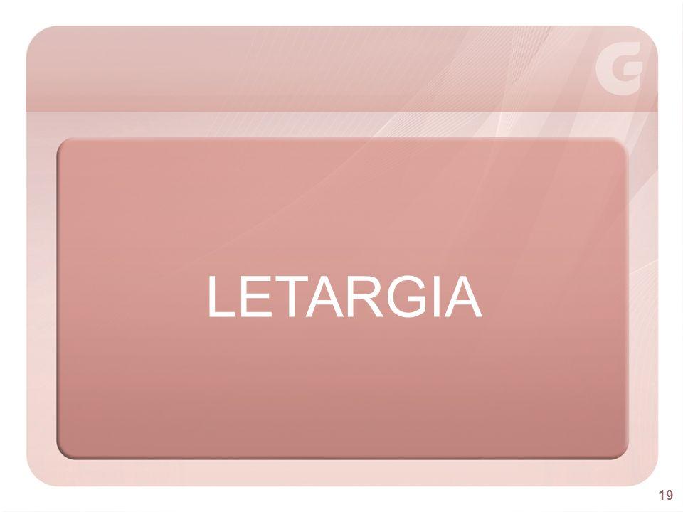 LETARGIA