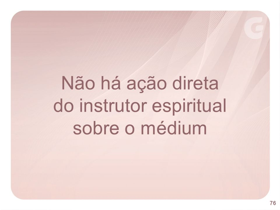 do instrutor espiritual