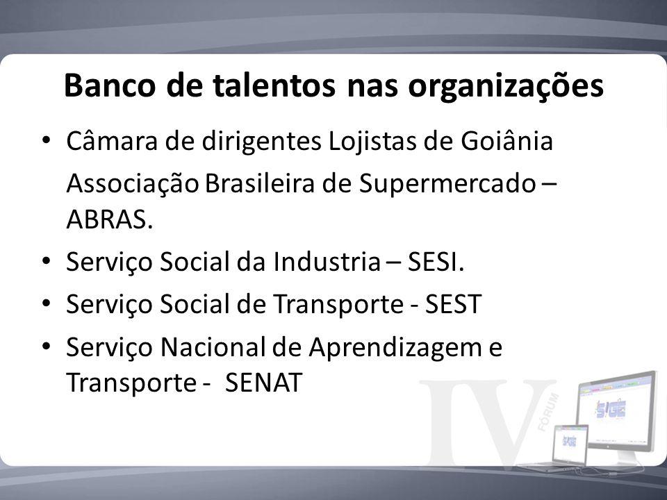 Banco de talentos nas organizações