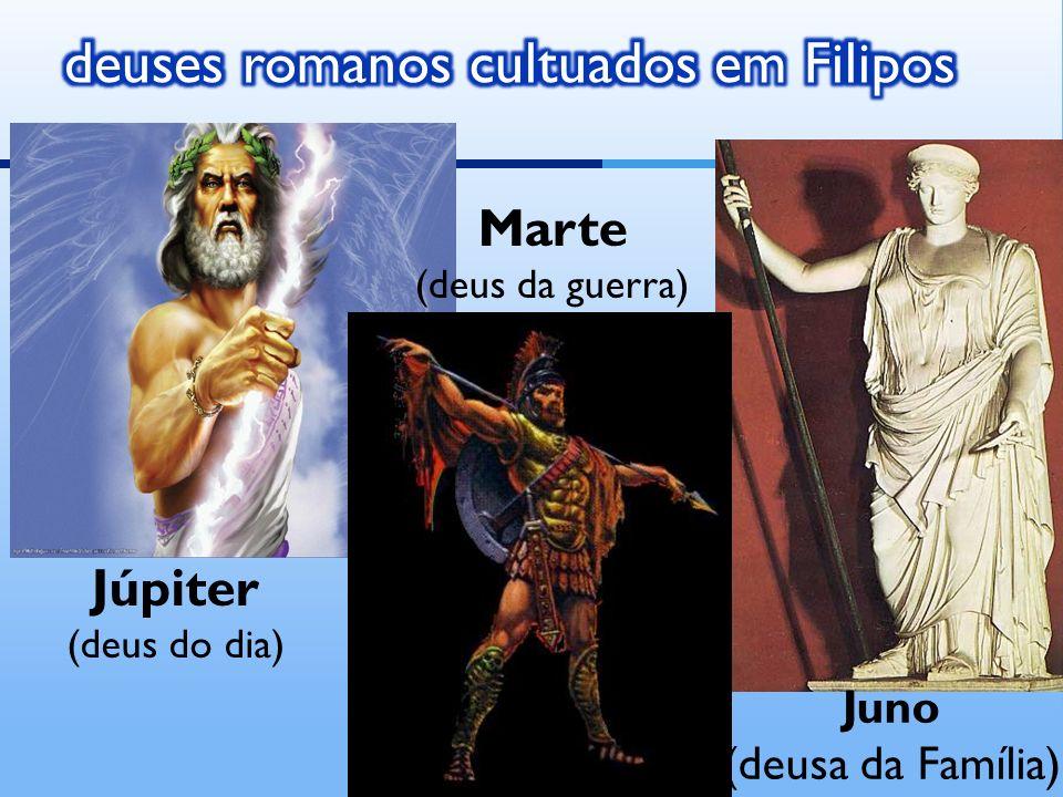deuses romanos cultuados em Filipos