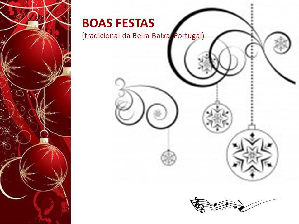BOAS FESTAS (tradicional da Beira Baixa, Portugal)