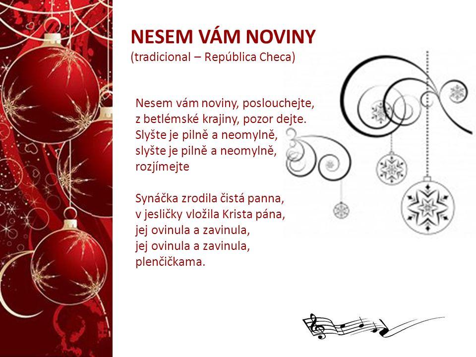 NESEM VÁM NOVINY (tradicional – República Checa)