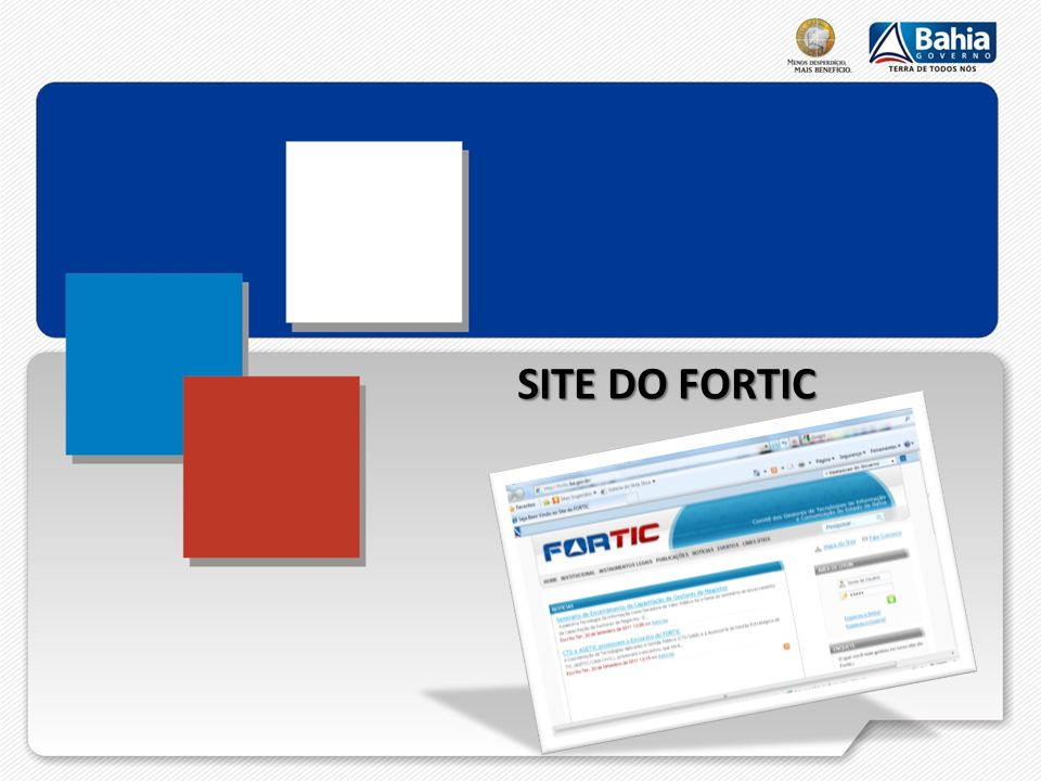 SITE DO FORTIC