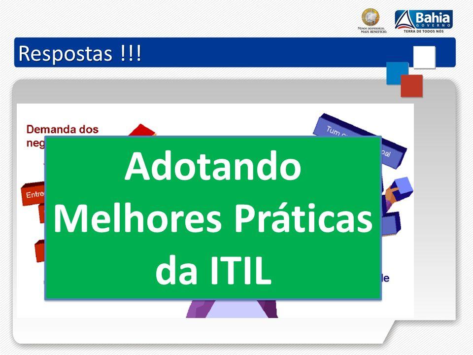 Adotando Melhores Práticas da ITIL