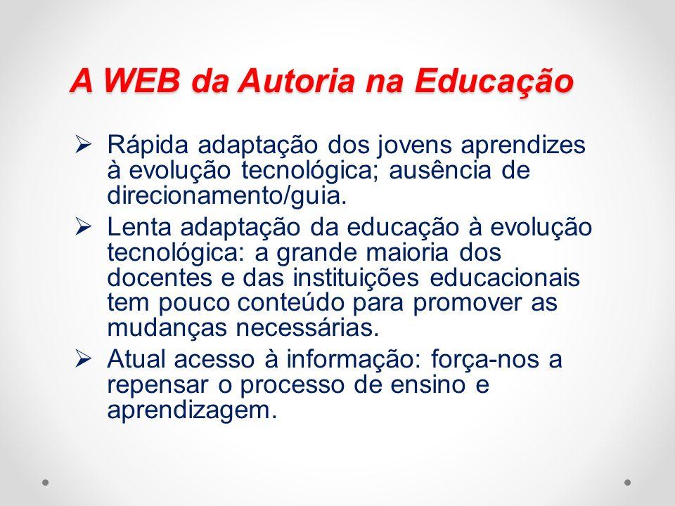 A WEB da Autoria na Educação