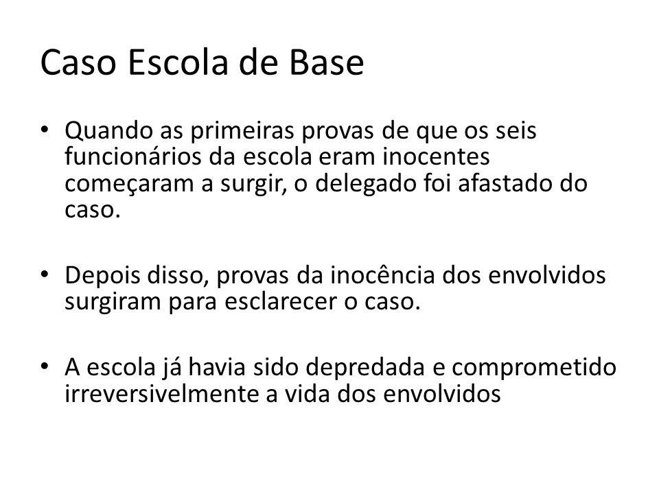 Caso Escola de Base