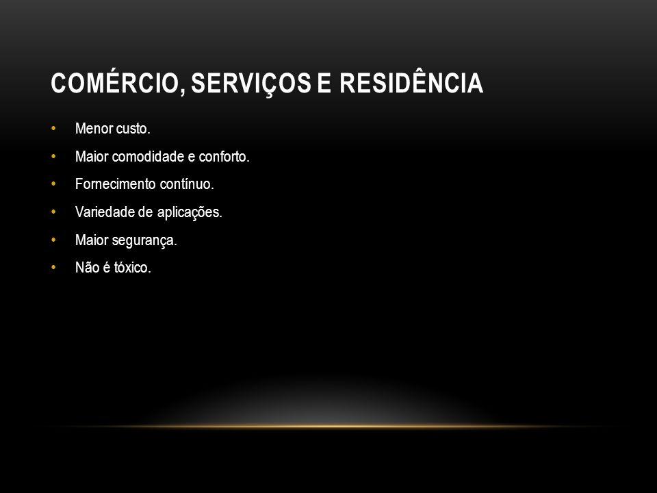 Comércio, serviços e residência