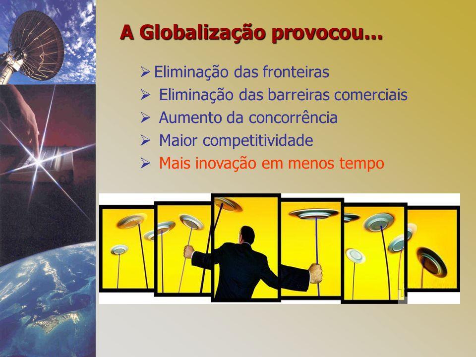 A Globalização provocou...