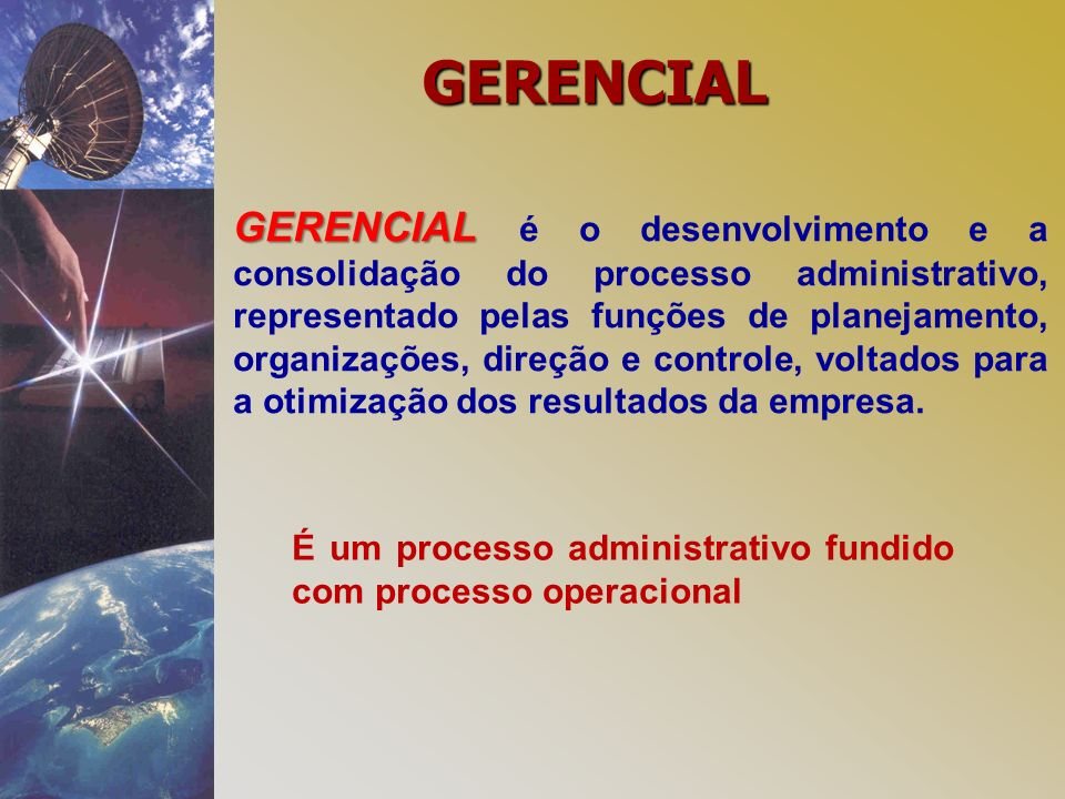 GERENCIAL