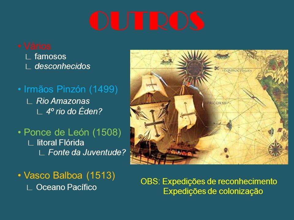 OUTROS • Vários • Irmãos Pinzón (1499) ∟ Rio Amazonas