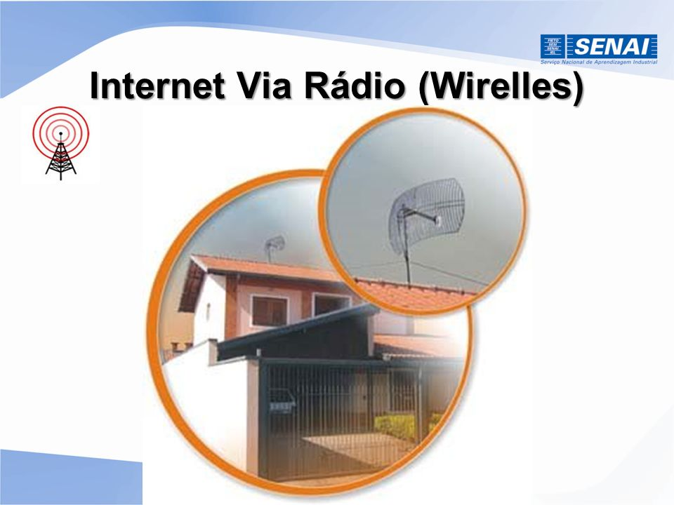 Internet Via Rádio (Wirelles)