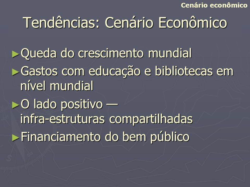 Tendências: Cenário Econômico