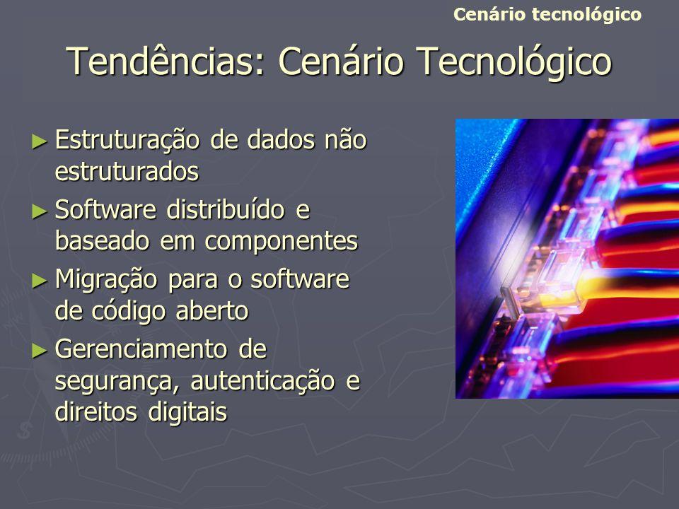 Tendências: Cenário Tecnológico